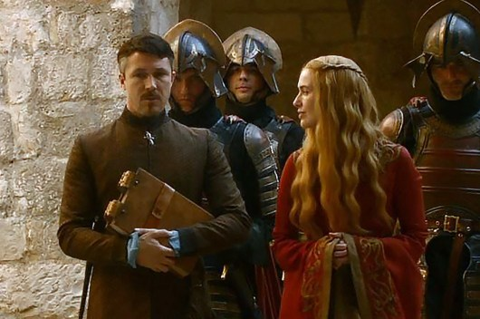 GoT S02E01 00.37.12 - Petyr Baelish's ledger - Close-up