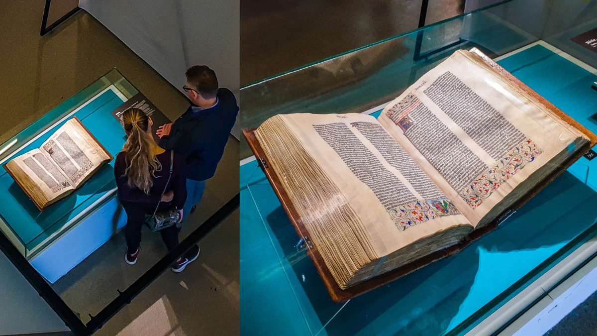One of the Twelve Remaining Gutenberg Vellum Bibles is Exhibited in Moscow