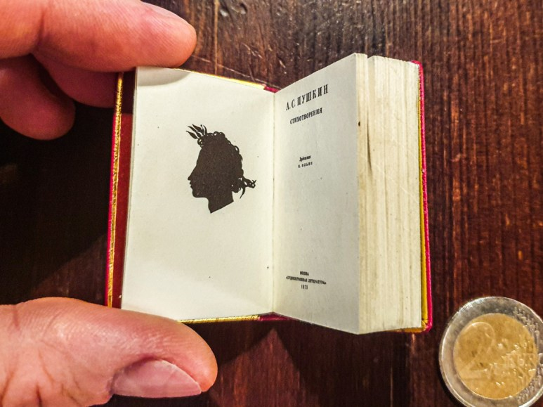 2019.09.06 - Soviet Miniature book with Pushkin's Poetry 03