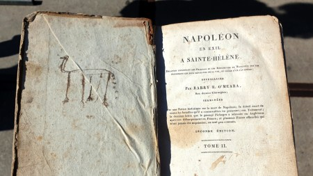 2019.09.21 - Child's Doodle in an 1822 Book About Napoleon