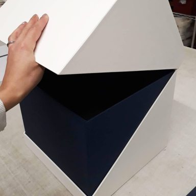 2019.10.07 - Inspiring Bookbinding Projects of September - Hinged Cubic Box by Sarah Baldi 03