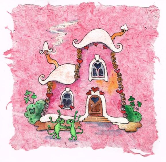 2019.10.10 - Enchanting Drawings on My Handmade Paper 2