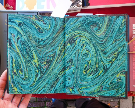 2019.10.11 - Marcel Proust and His Turquoise Marbled Papers 06