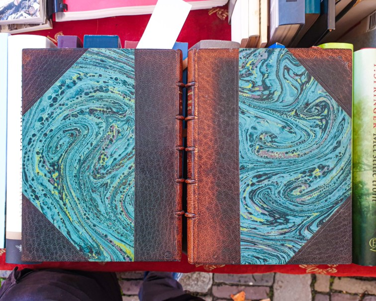 2019.10.11 - Marcel Proust and His Turquoise Marbled Papers 07