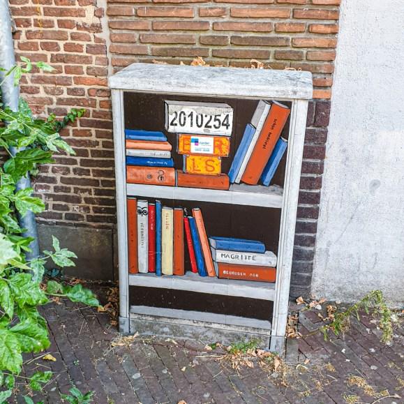 2019.10.17 - Bookish Street Switch Box in Leiden, Netherlands 1