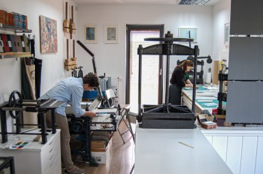 2019.10.23 - Workshop Tour of Introligatornia Tylkowski — Bookbinding Studio of Jacek Tylkowski 01