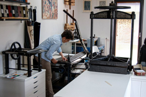 2019.10.23 - Workshop Tour of Introligatornia Tylkowski — Bookbinding Studio of Jacek Tylkowski 02