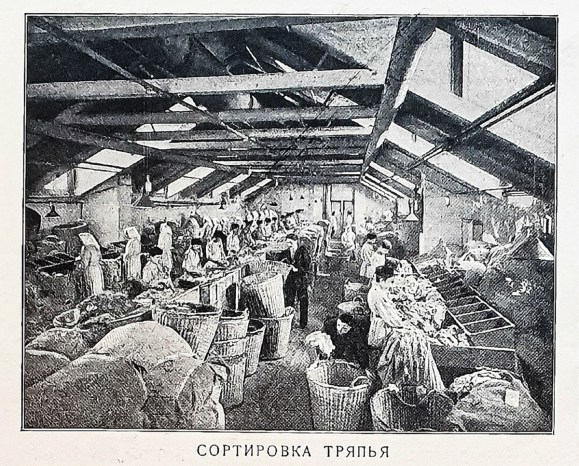 2019.11.01 - Russian Papermaking Industry 1901 - 01 Sorting Rugs
