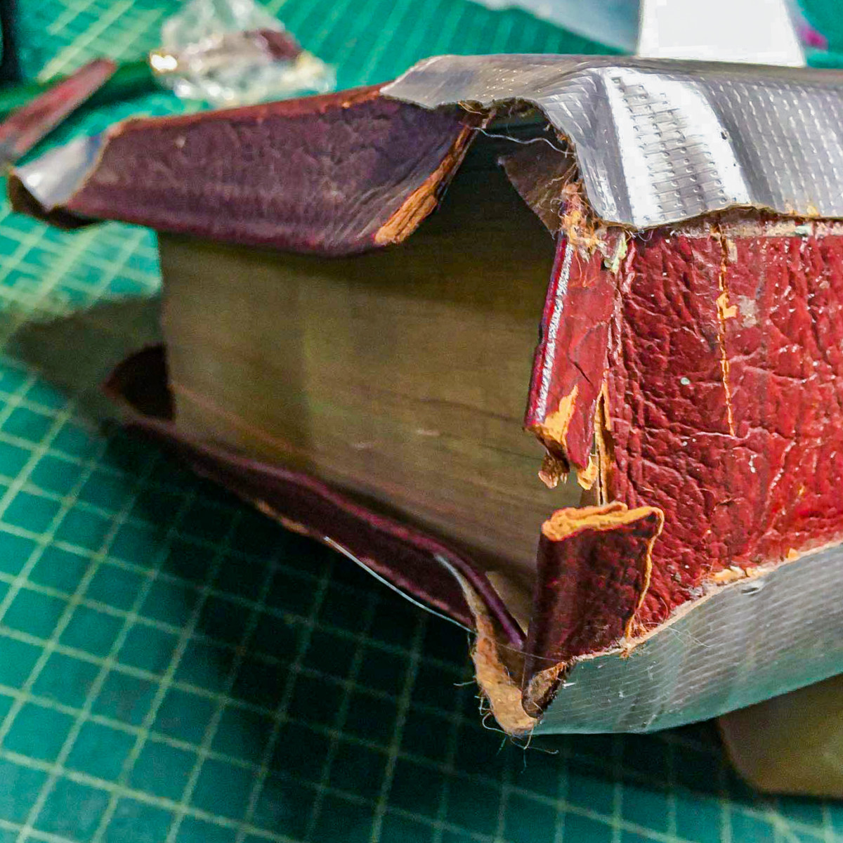 How Not To Repair Your Bible With Duct Tape 2