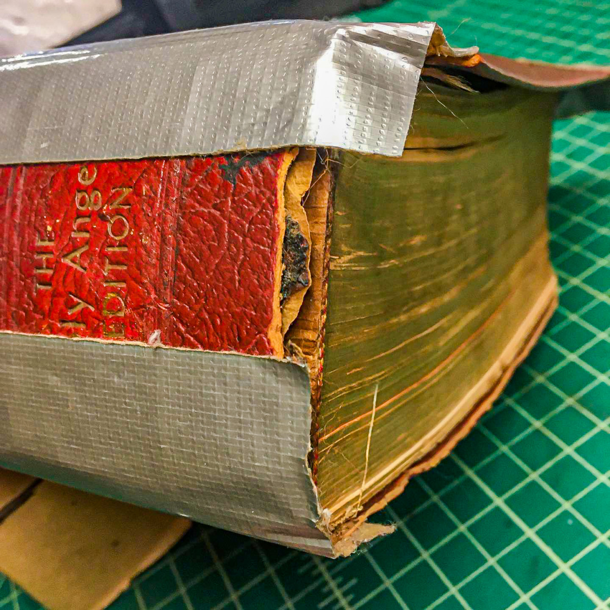 How Not To Repair Your Bible With Duct Tape 5