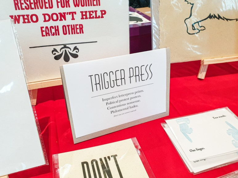 2019.11.16 - Witty and Sarcastic Prints by Luise Blackbird (Trigger Press) 4