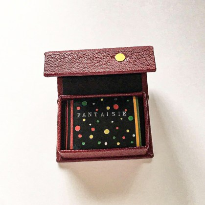 F A N T A I S I E — Miniature Book by Sandra Aftalion 2