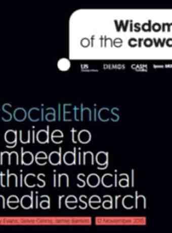 Guias sobre ética na pesquisa e monitoramento em mídias sociais