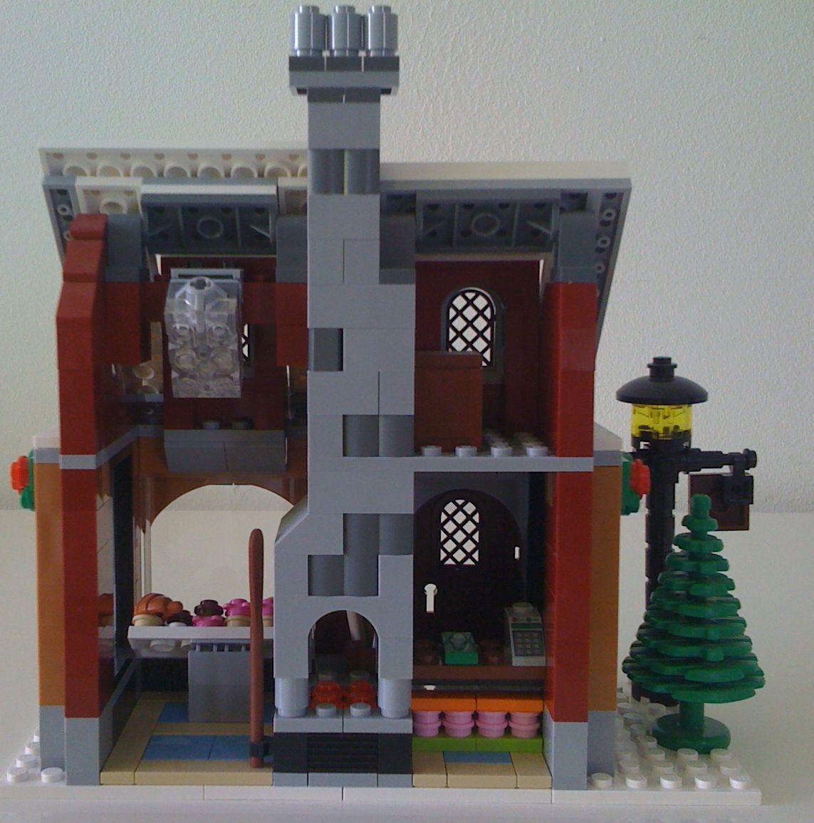 Lego 10216  Winter Village Bakery  i Brick City