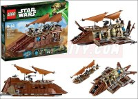 Jabba the hutt lego sail barge