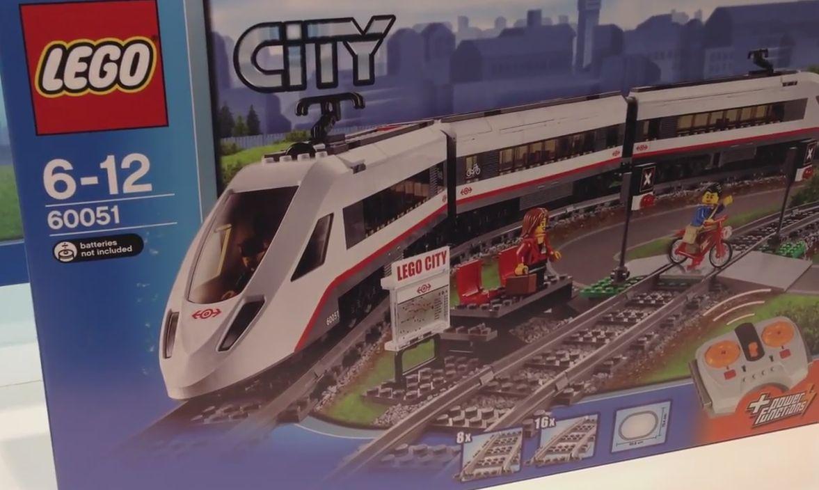 Lego 60051 – High Speed Passenger Train   i Brick City
