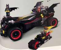 Lego 10917  The Ultimate Batmobile and its Four Separate ...