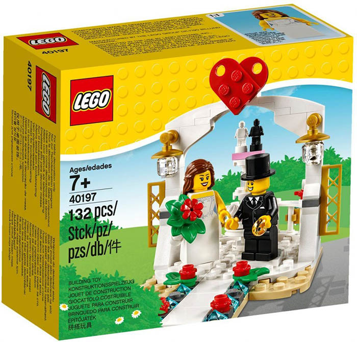 Lego 40197 Wedding Set I Brick City