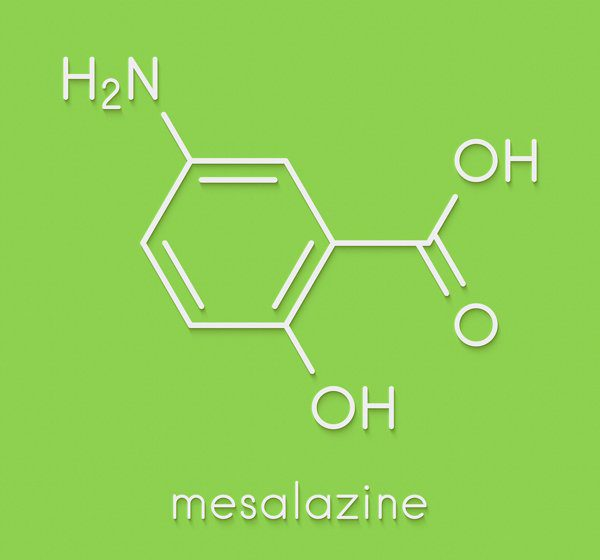 icon of chemical mesalazine