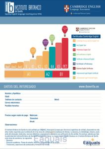 Cursos de ingles para ninos, Sevilla 2017 - 2018