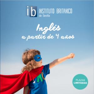 Folleto Cursos de Inglés para niños Sevilla