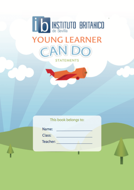 Cursos de ingles para niños Sevilla - Young Learner Can do Booklet