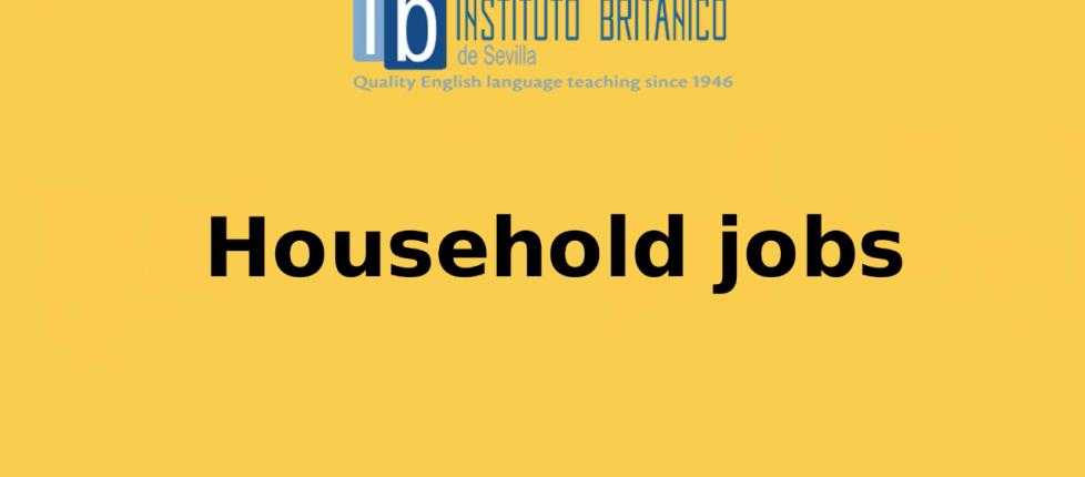 household job vocabulary