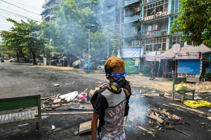 Myanmar's security forces have sought to quell a mass uprising against the coup with lethal force