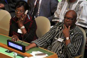 Le Président Kaboré et la première Dame du Faso : ''engagement sans réserve à défendre la cause des femmes''