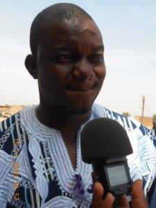 M. Justin Kaboré, 1er Adjoint au Maire de l'Arrondissement 7 de Ouagadougou