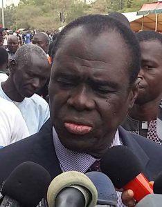 Le Président de la Transition Michel Kafando a assisté à la cérémonie d'hommage aux martyrs