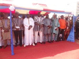 Les invités de différentes couches socioprofessionnelles ont pris part à l'inauguration des sociétés