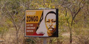 Le lieu du crime du journaliste d'investigation Norbert Zongo, sur la route de Sapouy