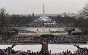 Des milliers d'américains sont venus de partout assistés à l'investiture du président Donald Trump