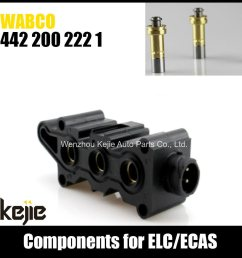 truck parts solenoid coil wabco 4422002221 for ecas air dryer [ 1000 x 1000 Pixel ]
