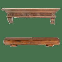 Fireplace Mantels | Fireplace Shelves | Wood Stone Mantel ...