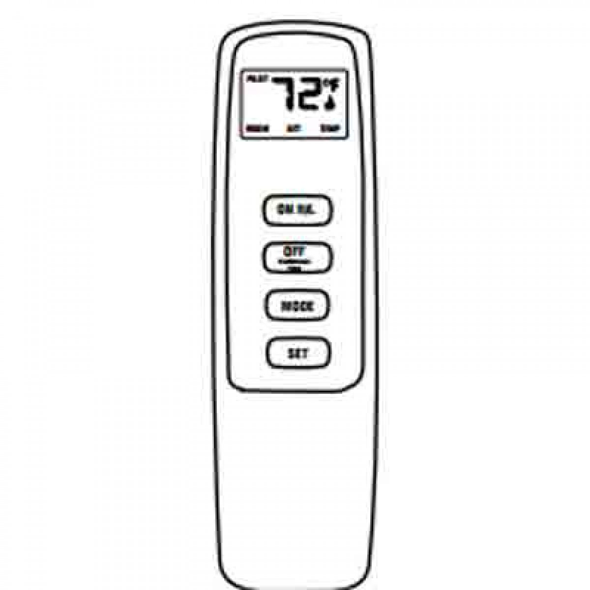 IHP Superior EF-TCHSRCK EcoFlow Touchscreen Remote, Electronic