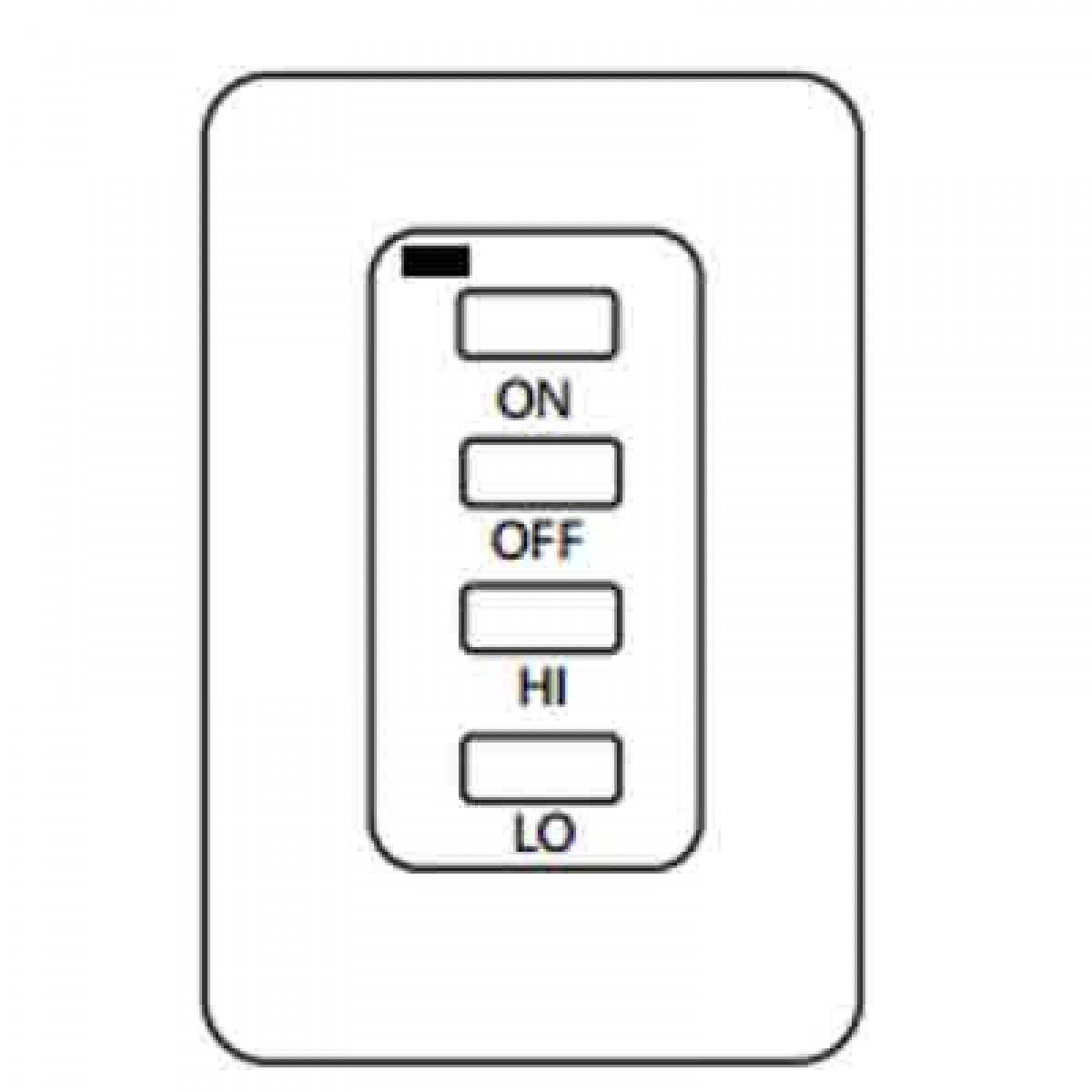IHP Superior EF-WWRCK Electronic Remote Wireless Wall Mount