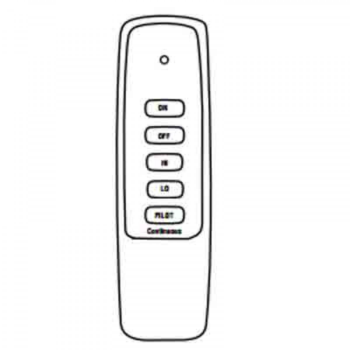 IHP Superior EF-BRCK EcoFlow Basic Remote Control On/Off