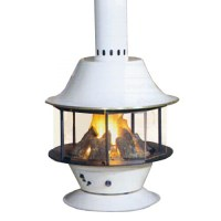 Malm Spin-A-Fire Wood Burning or Gas, Matte Black or ...