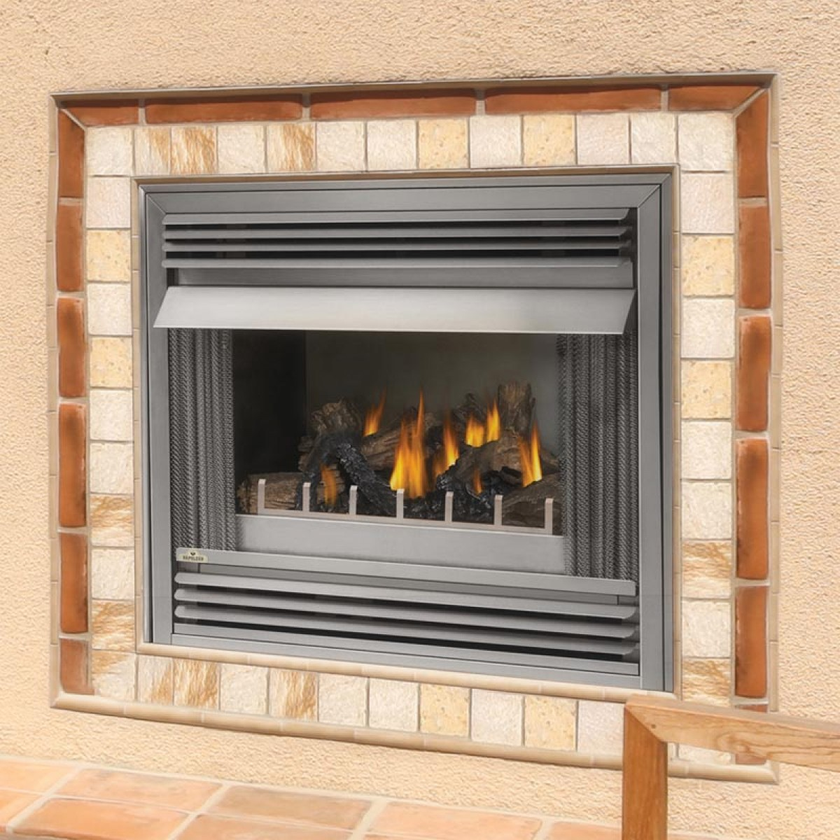 Napoleon Gss36n Outdoor Natural Gas Fireplace At