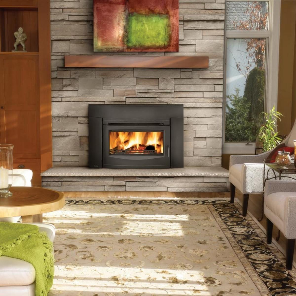 Napoleon EPI3 Wood Burning Fireplace insert W/Cast Iron