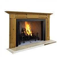 "IHP Superior WRT4550WH 50"" Wood Fireplace/Panels"