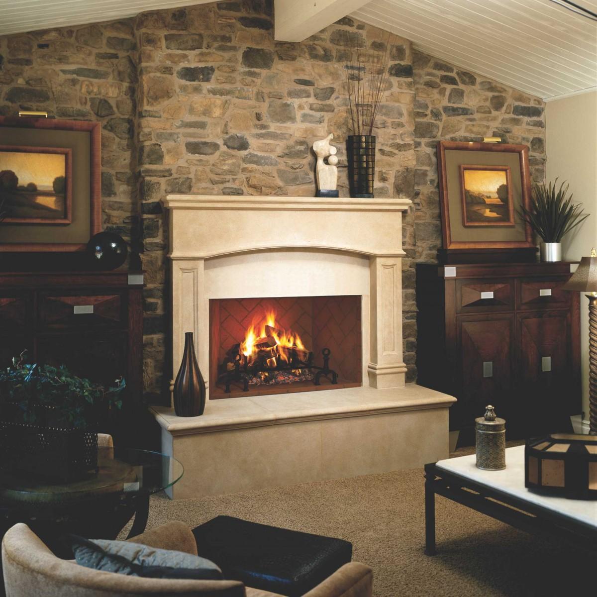 IHP Superior WRT6050RS 50 Masonry Wood Fireplace