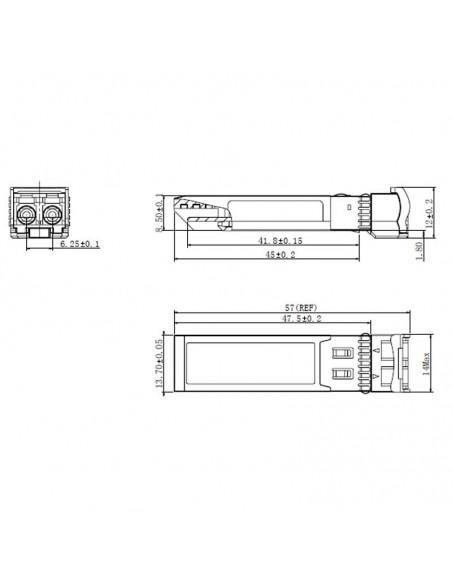 CWDM SFP module gigabit 80 km, 1470 nm