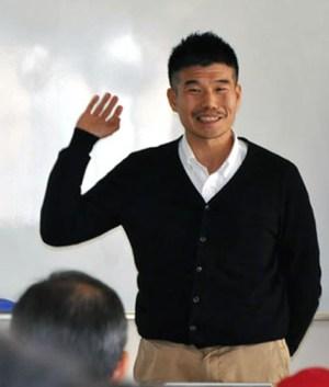 「日本人からみたイスラム文化?カタールでの経験から」講師の東先生