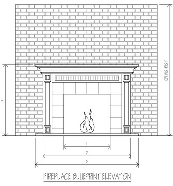 Fireplace Blueprints