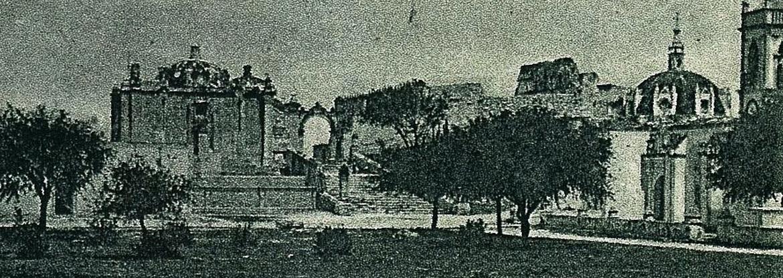 Historia de la Iglesia de El Calvario de Tehuacán Puebla: 1757