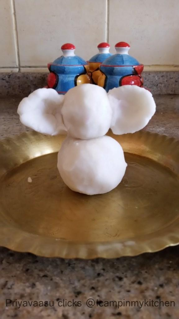 Eco-friendly Vinayagar idol