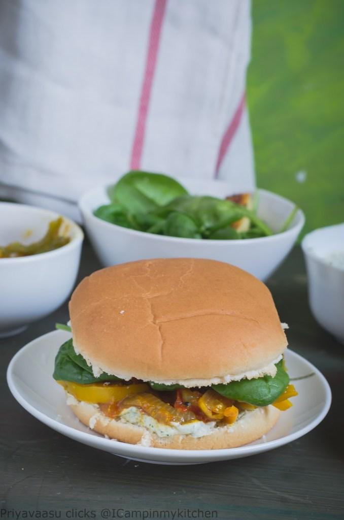 desi style burger